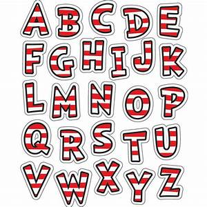dr seuss classic alphabet stickers With stick on letter decals