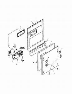 Door Assembly Diagram  U0026 Parts List For Model Shv99a03uc14