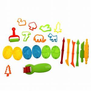 23 Plasticine Making Tools Color Clay Mould Set Hy