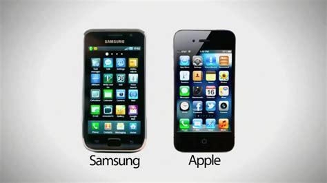 iphone or samsung samsung paga 548 milioni ad apple per aver copiato l