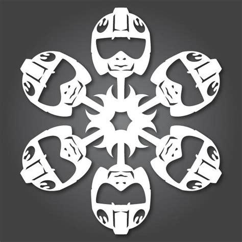 star wars snowflake 60 free paper snowflake templates wars style 171 ideas wonderhowto