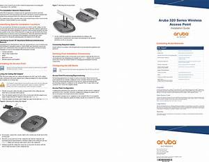 Aruba Networks Apin0324325 Wireless Access Point User