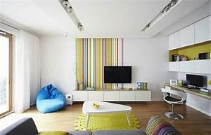 Apartment Einrichten Ideen : kleines wohnzimmer einrichten 20 ideen f r mehr ger umigkeit ~ Markanthonyermac.com Haus und Dekorationen
