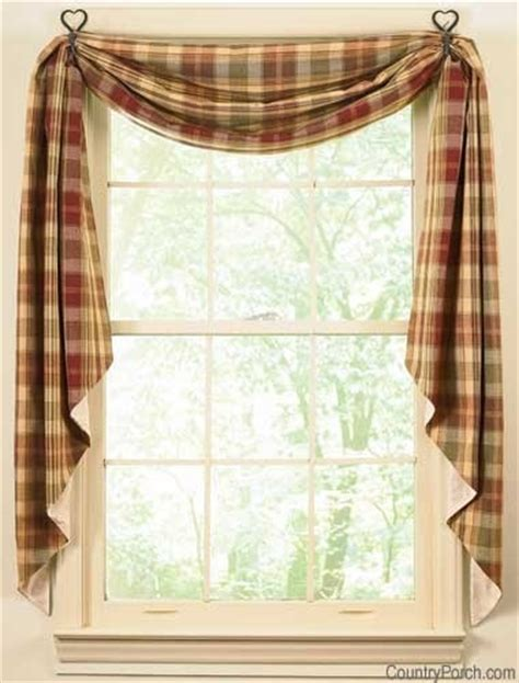 Country Window Treatments by Country Curtains Buy Here Decorating