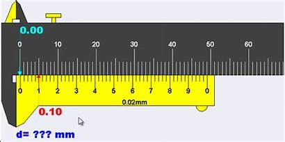 Vernier Scale Error Zero Diagram Calliper Measurement