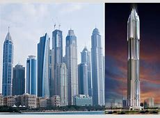 The 5 Tallest Skyscrapers in The World Completed by 2015