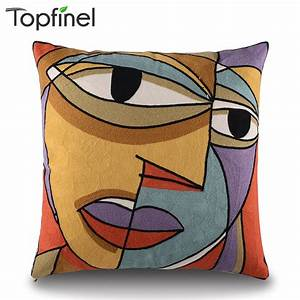 aliexpresscom buy top finel picasso embroidered With best store to buy throw pillows