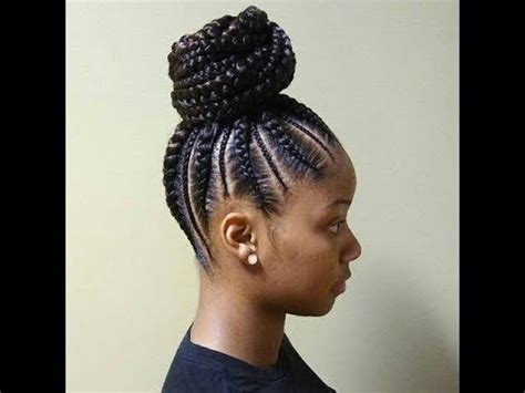 Ponytail Braid Hairstyles For by Cornrows And Ponytail Braids Hairstyles 2018