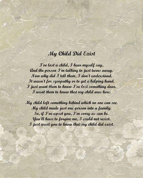 Child Death Memorial Poems