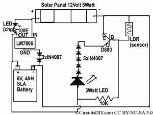 Wiring Diagram For 12 Volt Emergency Light
