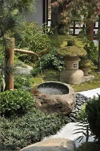 Fontaine Exterieur Zen : 1001 conseils pratiques pour une d co de jardin zen ~ Nature-et-papiers.com Idées de Décoration