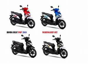 4 Warna Baru Honda Beat Pop 2018  Harga Rp  14 7jutaan
