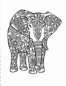 Adult Coloring Page:Original Hand Drawn Art in Black and White, Instant Digital Download Image