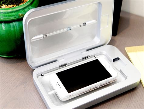SHARPER IMAGE UV-ZONE PHONE SANITIZER | Best Of As Seen On TV