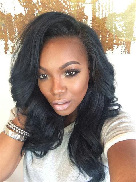 Sew In Weave Black Hairstyles by 215 Best Weave Sew Ins Hairstyles Images On