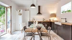 Cuisine Deco Industrielle : d co cuisine industrielle id es et conseils c t maison ~ Carolinahurricanesstore.com Idées de Décoration