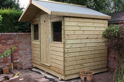 8ft x 6ft Garden Shed   The Wooden Workshop   Oakford, Devon
