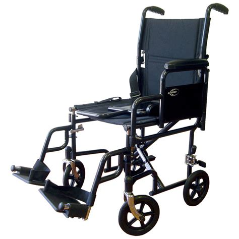karman healthcare t 2700 transport with removable armrests