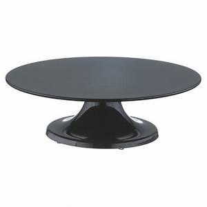 Tortenplatte Mit Fuß : tortenplatte 32 cm schwarz drehbar mit fu melamin ~ Frokenaadalensverden.com Haus und Dekorationen
