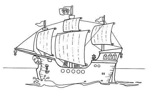 Dibujo Barco Pirata Para Imprimir by Im 225 Genes De Barcos Para Colorear Banco De Im 225 Genes Gratis