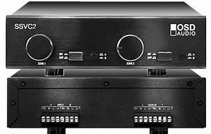 Ssvc2 2 Pair Speaker Selector Dual Source 300w Volume Control