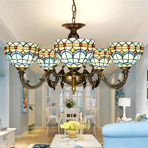 tiffany light fixtures dining room tiffany chandelier stained glass pendant ls art dining