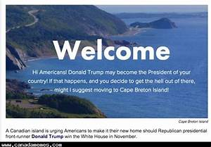 Cape Breton is urging Americans to move there if Trump ...