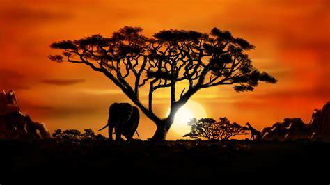 african scenery desktop wallpaper wallpapersafari