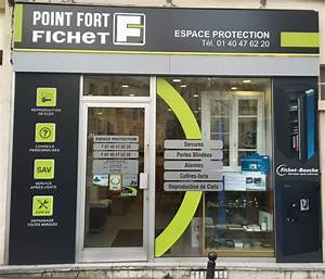 fichet point fort espace protection serrurier 98 rue With serrurier paris 75014
