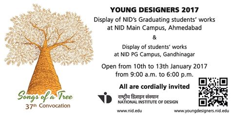 nid convocation  ahmedabad national institute