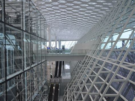 Ribbon-cutting Ceremony For Terminal Of The Bao'an