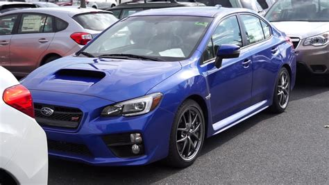 subaru wrx sti limited walkaround youtube