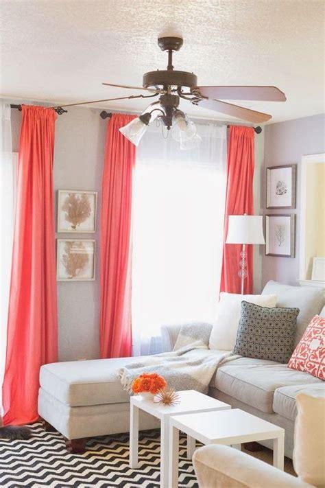 ideas  coral curtains  pinterest peach curtains coral bedroom decor