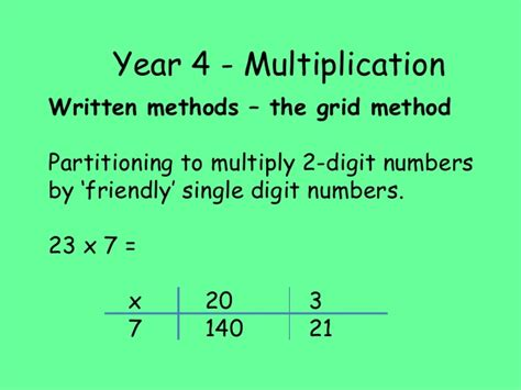 multiplication worksheets using grid method grid method multiplication for year 3 grid method
