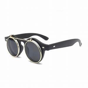 Lunettes de soleil rondes grande Monture optique et lunette fd406ea12190