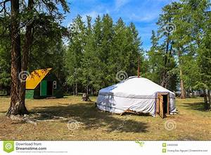 A Traditional Ger In Mongolia Stock Photo - Image: 54055506