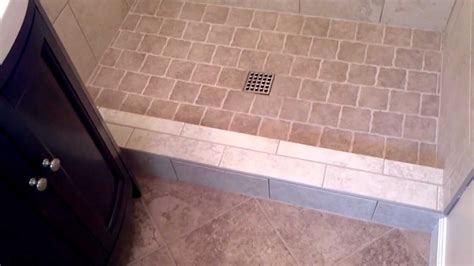 show tiles install a tile shower in a small bathroom youtube