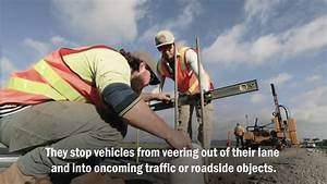 Safety Barrier Installation On Key Country Roads