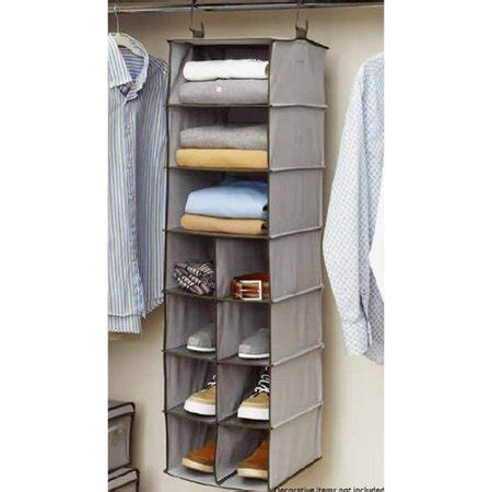 Hanging Closet Rack by Better Homes And Gardens 11 Compartment Hanging Closet