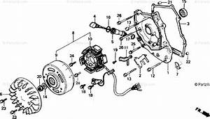 Honda Scooter 1991 Oem Parts Diagram For Alternator