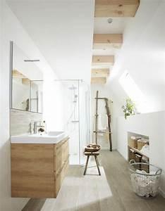 Meuble Salle De Bain Zen : 10 fa ons de se cr er une salle de bains zen elle d coration ~ Teatrodelosmanantiales.com Idées de Décoration