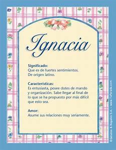 Ignacia, I, tarjetas