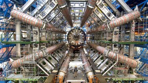 large hadron collider science atoms