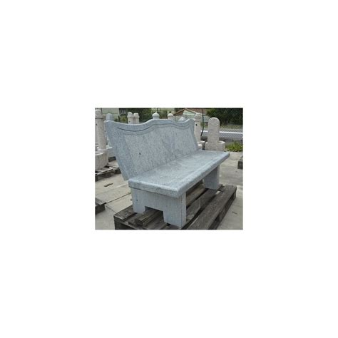 edilbassi s r l granite bench with backrest