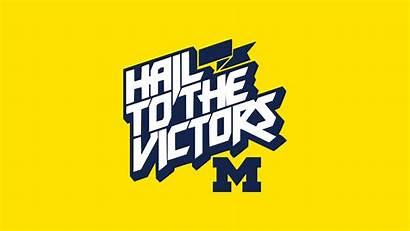 Michigan Wolverines Block Wallpapers Screensaver Inimal Heck