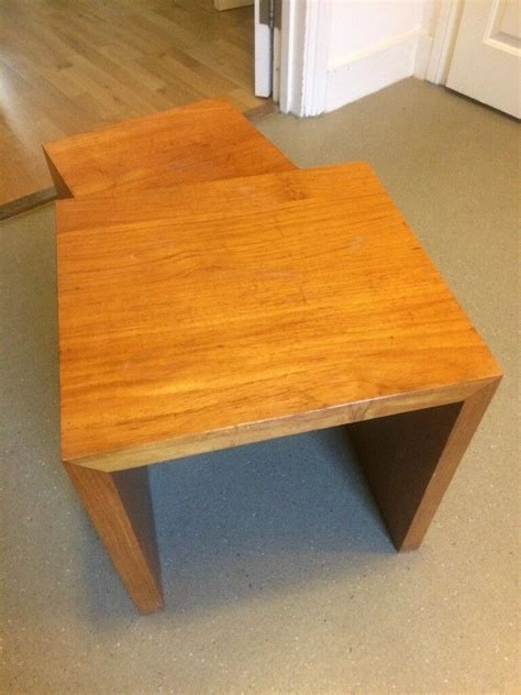 We carry end tables in a range of designs, including nesting tables and marble top tables. Next Opus Mango Wood Nest Of 2 Tables   in Hackney, London   Gumtree