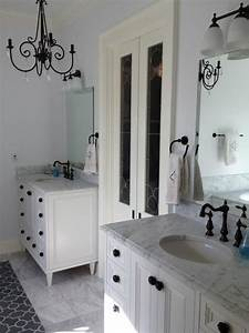 master bath countertops 3cm white carrera shabby chic With shabby chic master bathroom