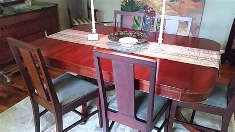 duncan phyfe table  sideboard asheville youtube