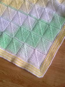 Tunisian Crochet Pattern Tunisian Diamond Entrelac Baby
