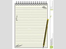 Templates clipart notepad Pencil and in color templates